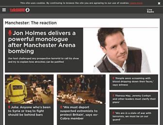 talkradio.co.uk screenshot