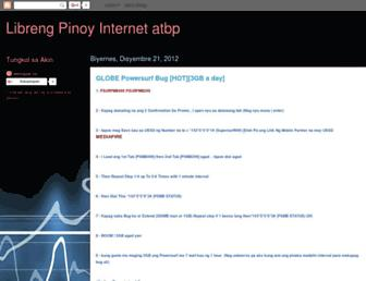 fbtpinoy.blogspot.com screenshot