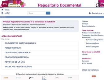 uvadoc.uva.es screenshot