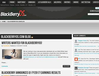 blackberryos.com screenshot
