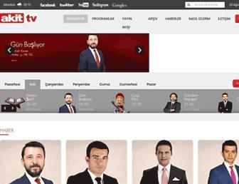akittv.com.tr screenshot