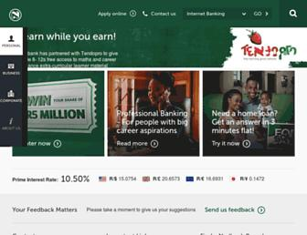 nedbank.co.za screenshot