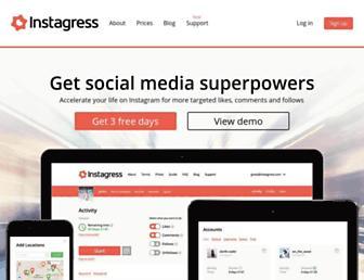 Thumbshot of Instagress.com