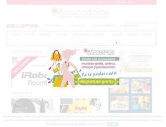 ahorradoras.com screenshot
