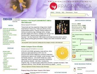 fragrantica.pl screenshot