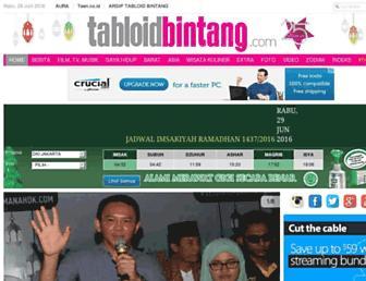 Thumbshot of Tabloidbintang.com