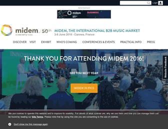 Thumbshot of Midem.com