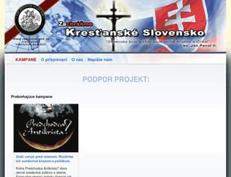 Thumbshot of Zakrestanske.sk