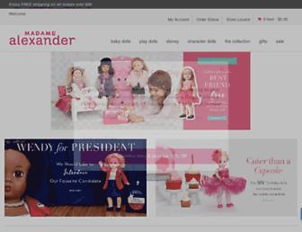 Thumbshot of Madamealexander.com