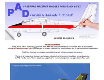 premaircraft.com screenshot