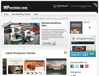 Thumbshot of Wparchive.com