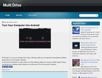 multidrive.blogspot.com screenshot