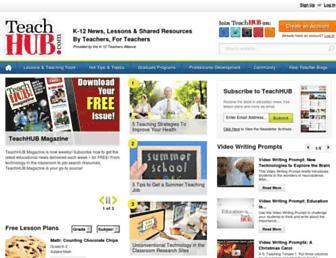 teachhub.com screenshot