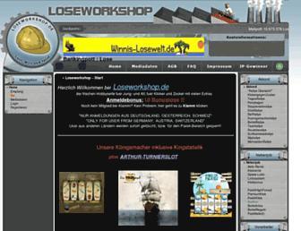 Thumbshot of Loseworkshop.de