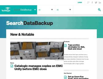 searchdatabackup.techtarget.com screenshot