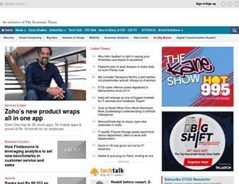 cio.economictimes.indiatimes.com screenshot
