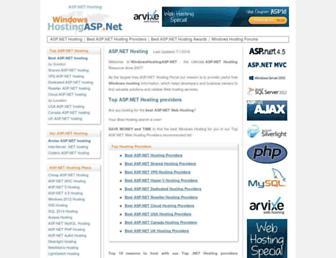 Thumbshot of Windowshostingasp.net