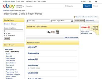 coins.stores.shop.ebay.com screenshot