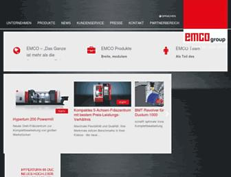 emco-world.com screenshot