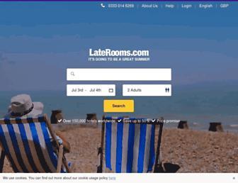 Thumbshot of Laterooms.com