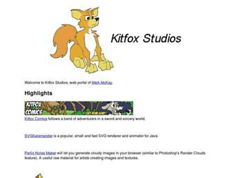 kitfox.com screenshot