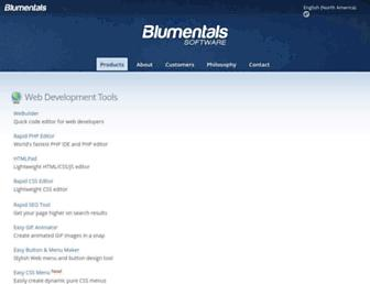 Thumbshot of Blumentals.net