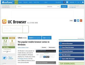 uc-browser.en.softonic.com screenshot