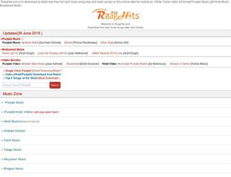 raaghits.net screenshot