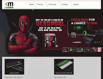 Thumbshot of Mushkin.com