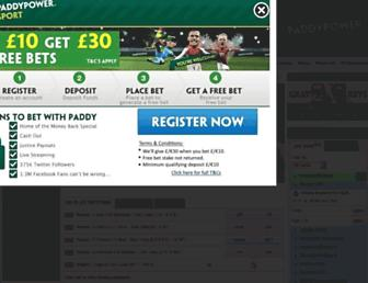 Thumbshot of Paddypower.com