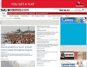 surinenglish.com screenshot