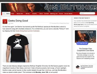 Thumbshot of Jim-butcher.com