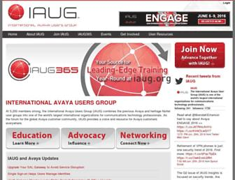 iaug.org screenshot
