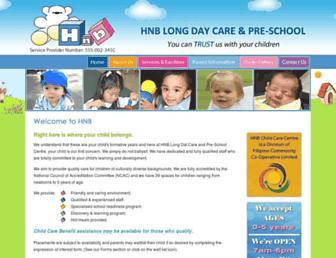 hnbdaycare.com.au screenshot