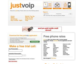 Thumbshot of Justvoip.com