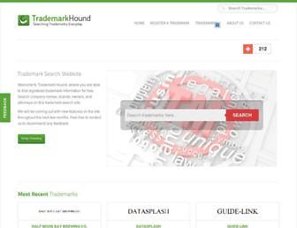 markhound.com screenshot