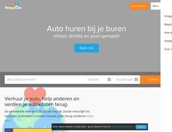 Thumbshot of Snappcar.nl