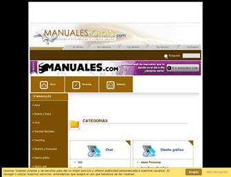 manuales-gratis.com screenshot