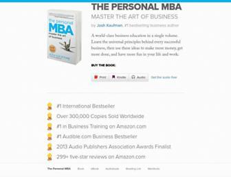 personalmba.com screenshot