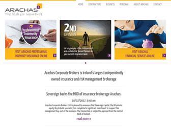 arachas.ie screenshot