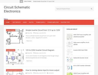 circuitschematicelectronics.blogspot.com screenshot