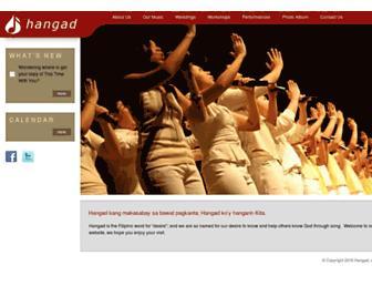 hangad.org screenshot