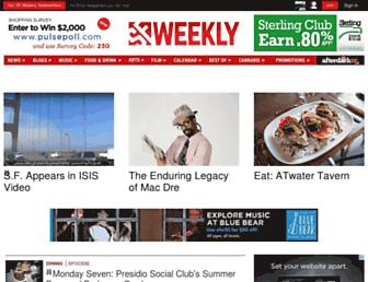 sfweekly.com screenshot