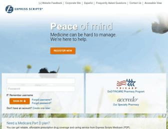 Thumbshot of Express-scripts.com