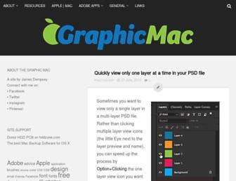 thegraphicmac.com screenshot
