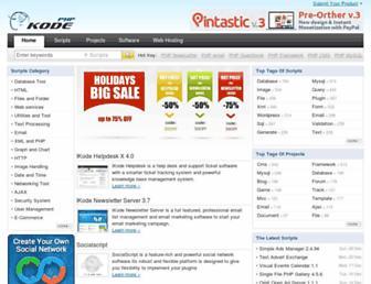 Thumbshot of Phpkode.com