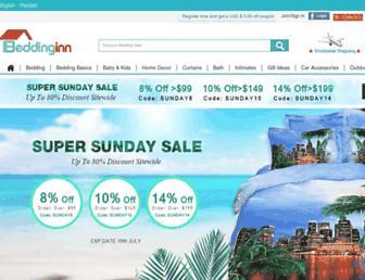 beddinginn.com screenshot