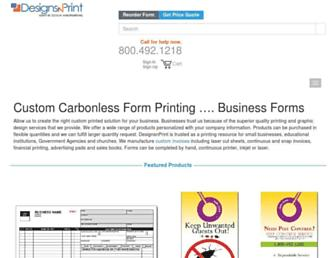 designsnprint.com screenshot