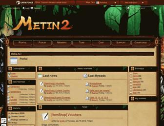 board.ro.metin2.gameforge.com screenshot