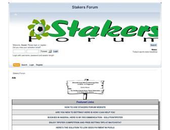 stakersforum.com screenshot